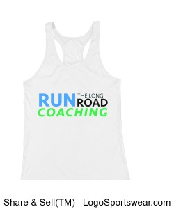 Women's Running Tank Design Zoom