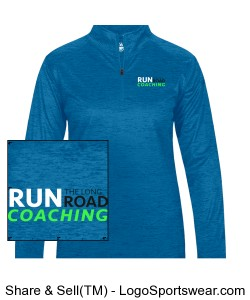 Women's Running 1/4 Zip Design Zoom
